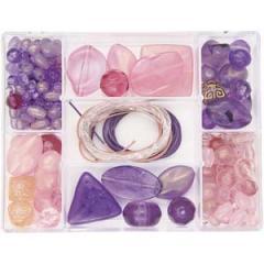 Elements Pink Purple Jewellery Kit