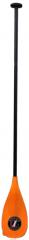Aluminium Alloy shaft and Nylon bladed paddle