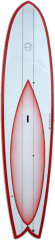 11' Custom Stand Up Paddleboard