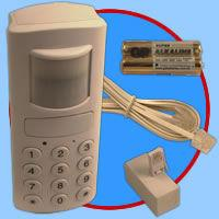 Motion Detection Wireless Burglar Alarm with