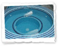 Swimming pool finishes & mosaics