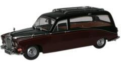 Black /Claret Daimler DS420 Hearse Model 1:43
