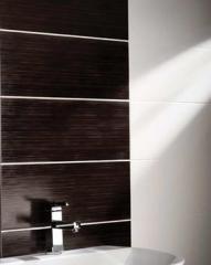 Bathroom Tile Illusion