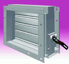 MB120 High Temperature Volume Control Damper