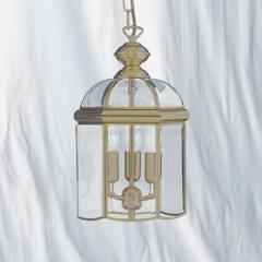 Solid Antique Brass Lantern