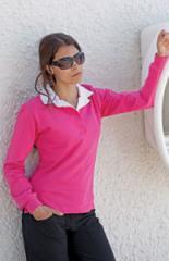 Women's long sleeve original rugby shirt