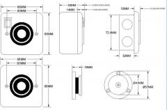Electro-magnetic door retainer