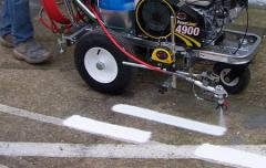 Chlorinated Rubber Line Marking Paint