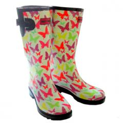 Funky Butterfly Wellies, Fashion Wellies Boots