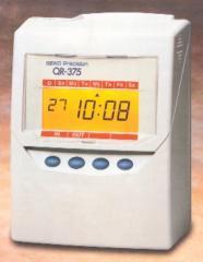 Calculating Seiko QR375 Time Recorder