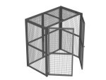 Amp Box 1 wire mesh security cage