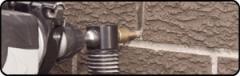 Dust Free Mortar Raking