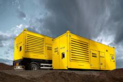 QAC 500-800-1000 Containerized diesel-powered