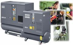 GX 2-11 Oil-injected rotary screw compressors