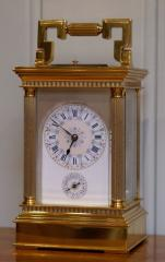 An exceptional Late Victorian Carriage Clock