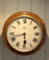 Solid Oak Cased Dial Clock