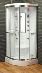 Quadrant Steam Shower Cabins