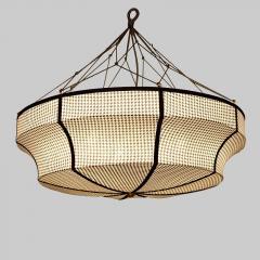 Ceiling lamp in Printedfabric