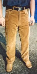 Men's Suede Jeans