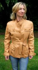 Women's Leather Country Jacket