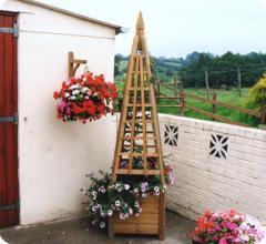Bespoke Pyramid Shaped Garden Trellis