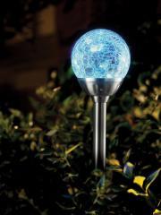 Solar Ice Orb Light
