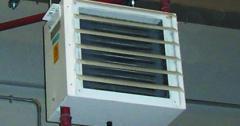 Uniflow unit heaters
