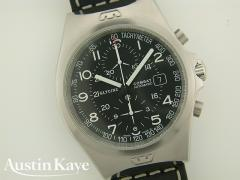 Gents Glycine Combat Automatic Steel on Strap