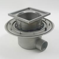 Industrial-300 Adjustable drain for concrete tiled