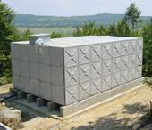 Pressed Steel Sectional Water Tanks