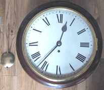 Buck Arms Clock