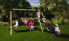 Baboon Double wooden swing