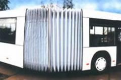 Concertina Walls for Articulated Buses