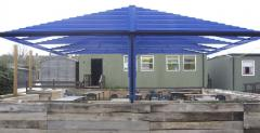 Free standing Canopies