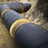 CPV's Steel pre-insulated pipe systems