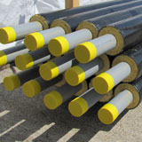 CPV's Process pre-insulated pipe systems