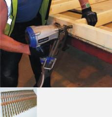 Duo-Fast plastic strip nailing system