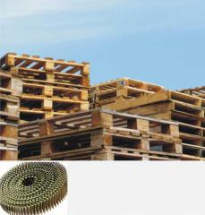 Wire coil nailing system