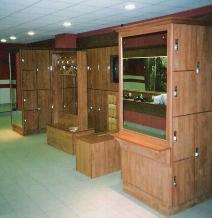 Crown Wooden Lockers