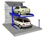 Stack parking system - dependent Model 2061