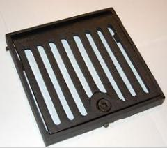 Square Hinged & Locking Grate &