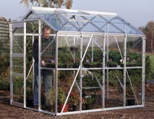 Medium free standing greenhouses