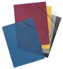 Folder with Elastic Holders A4
