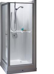 Seamless 900 Corner Shower Pod