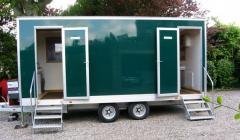 Luxury Mobile Trailer Toilets