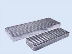 Elefant stair treads - type mesh gratings