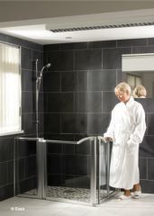 The Evolution Chrome Collection Shower Doors
