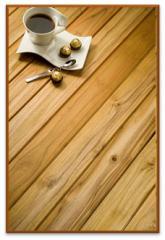 Rustic Teak hardwood decking by Exterpark