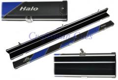 3/4 Peradon Halo case Black/Blue