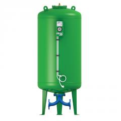 Pressure expansion vessels for sanitary appliances